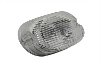 V-Twin 33-0931 - Tail Lamp Lens Laydown Style Clear