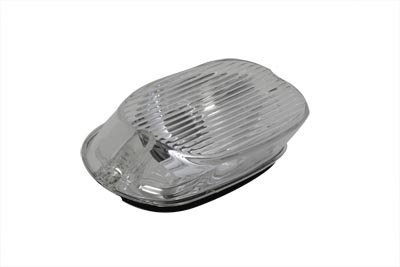 V-Twin 33-0934 - Tail Lamp Lens Laydown Style Clear