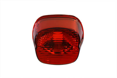 V-Twin 33-0935 - Tail Lamp Lens Laydown Style Red