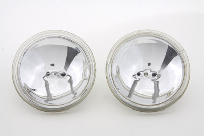 "V-Twin 33-1087 - Clear Sealed Beam 4-1/2"" Spotlamp Set"