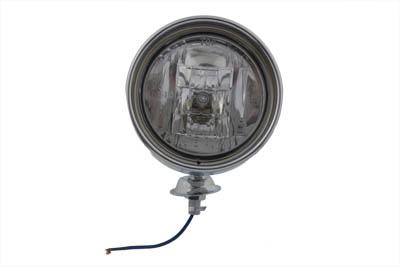 "V-Twin 33-1245 - Chrome 4"" Spotlamp with H-3 Bulb Inset Type"