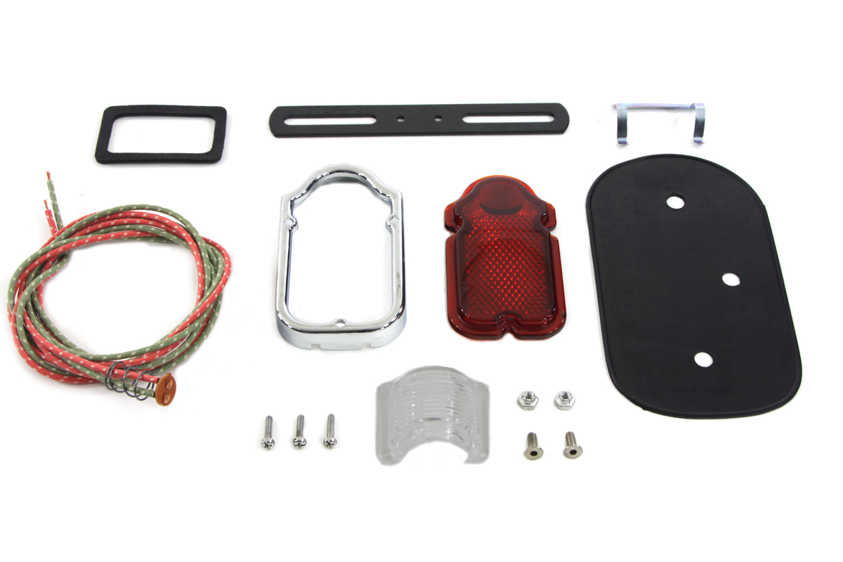V-Twin 33-1309 - Tombstone Tail Lamp Parts Kit