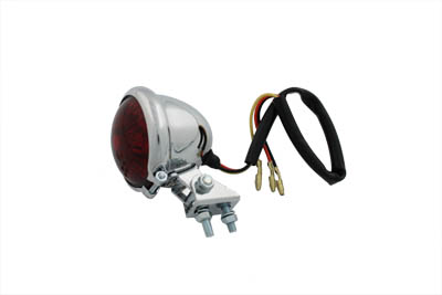 V-Twin 33-1526 - Round LED Tail Lamp with Red Lens