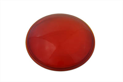 V-Twin 33-2002 - Red Glass Spotlamp Lens