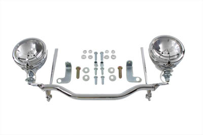 V-Twin 33-2031 - Chrome Spotlamp Kit