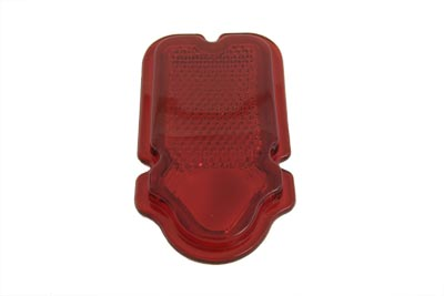 V-Twin 33-2108 - Tail Lamp Lens Plastic Red