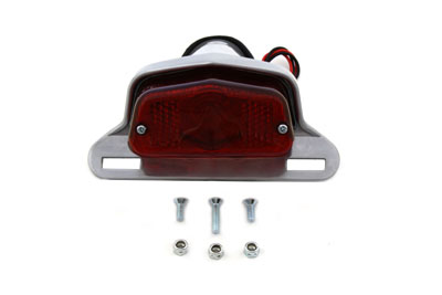V-Twin 33-2140 - Aluminum Sport Tail Lamp Assembly Large Lucas S