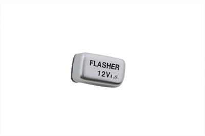 V-Twin 33-2198 - Replica Rectangular 12 Volt Turn Signal Flasher