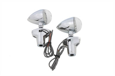 V-Twin 33-4116 - LED Turn Signal Set with Stand Off Mount
