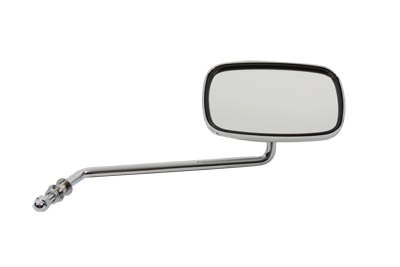 V-Twin 34-0314 - Replica Swivel Mirror with Long Stem Chrome