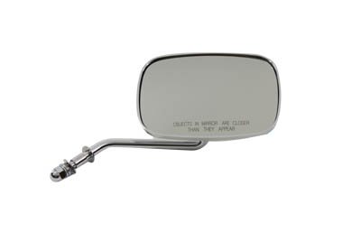 V-Twin 34-0340 - Rectangle Convex Type Mirror