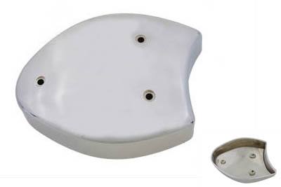 V-Twin 34-0453 - Scoop Air Cleaner Cover Chrome