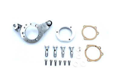 V-Twin 34-0460 - Air Cleaner Bracket Kit Billet Chrome