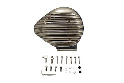 V-Twin 34-0528 - Finned Tear Drop Air Cleaner Assembly