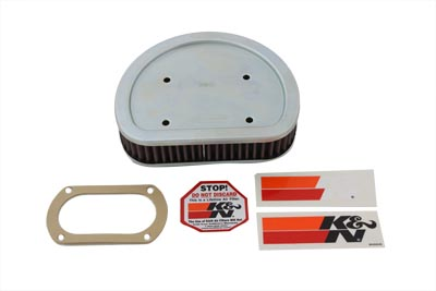 V-Twin 34-0579 - K&N Replacement Air Filter