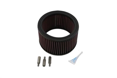 V-Twin 34-0653 - High Flow Air Filter Kit