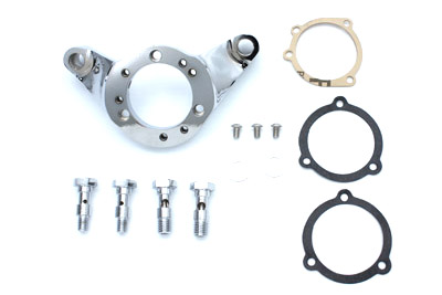V-Twin 34-0662 - Air Cleaner Bracket Kit Chrome Billet