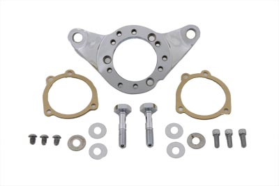 V-Twin 34-0713 - Chrome Billet Air Cleaner Bracket Kit