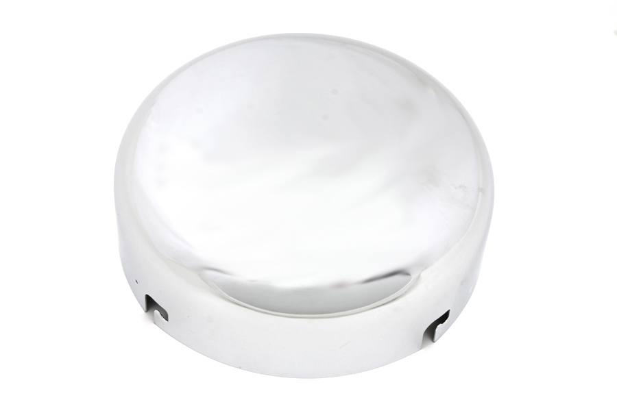 "6"" AIR CLEANER COVER, CHROME VTWIN 34-0778"
