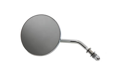 V-Twin 34-0998 - Round Mirror Chrome