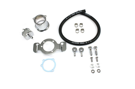V-Twin 34-1114 - Velocity Stack Kit Chrome