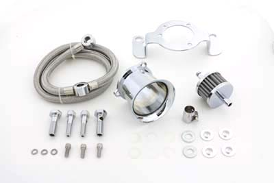 V-Twin 34-1122 - Velocity Stack Kit Chrome