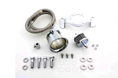 V-Twin 34-1123 - Velocity Stack Kit Chrome