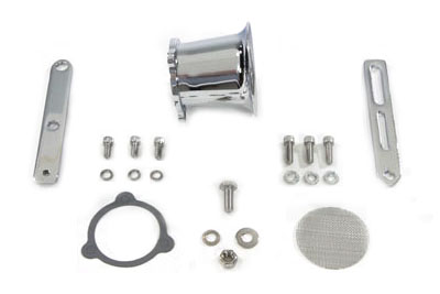 V-Twin 34-1177 - Super Velocity Stack Kit Chrome