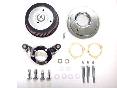 V-Twin 34-1255 - Cycovator Hi-flow Air Cleaner Kit