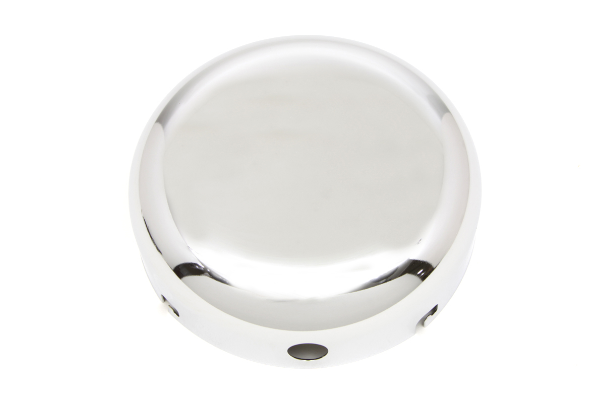 "V-Twin 34-1308 - Chrome 7"" Air Cleaner Cover"