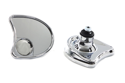 V-Twin 34-1337 - Split Vision Fairing Mount Mirror Set