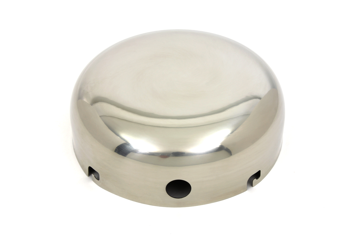 V-Twin 34-1342 - Stainless J-Slot Air Cleaner Cover