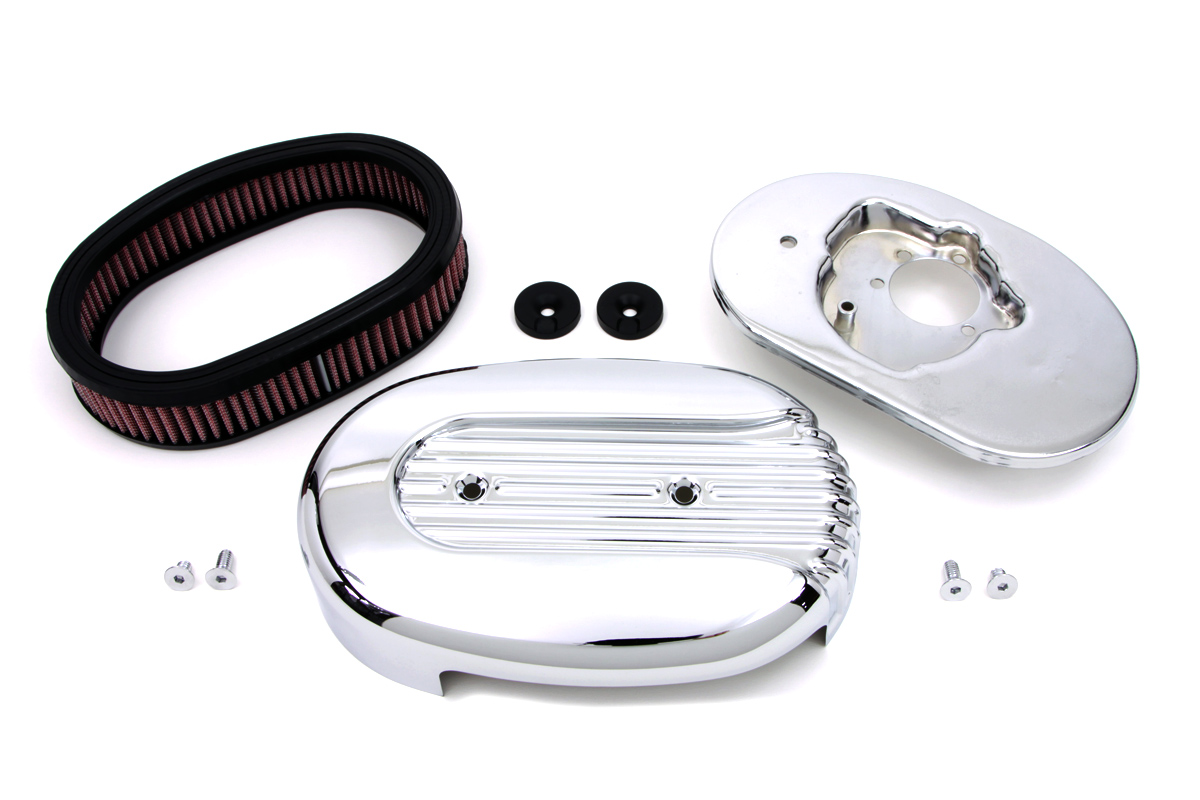 V-Twin 34-1382 - Oval Air Cleaner Kit