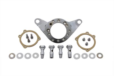 V-Twin 34-1519 - Air Cleaner Bracket Kit Chrome Billet