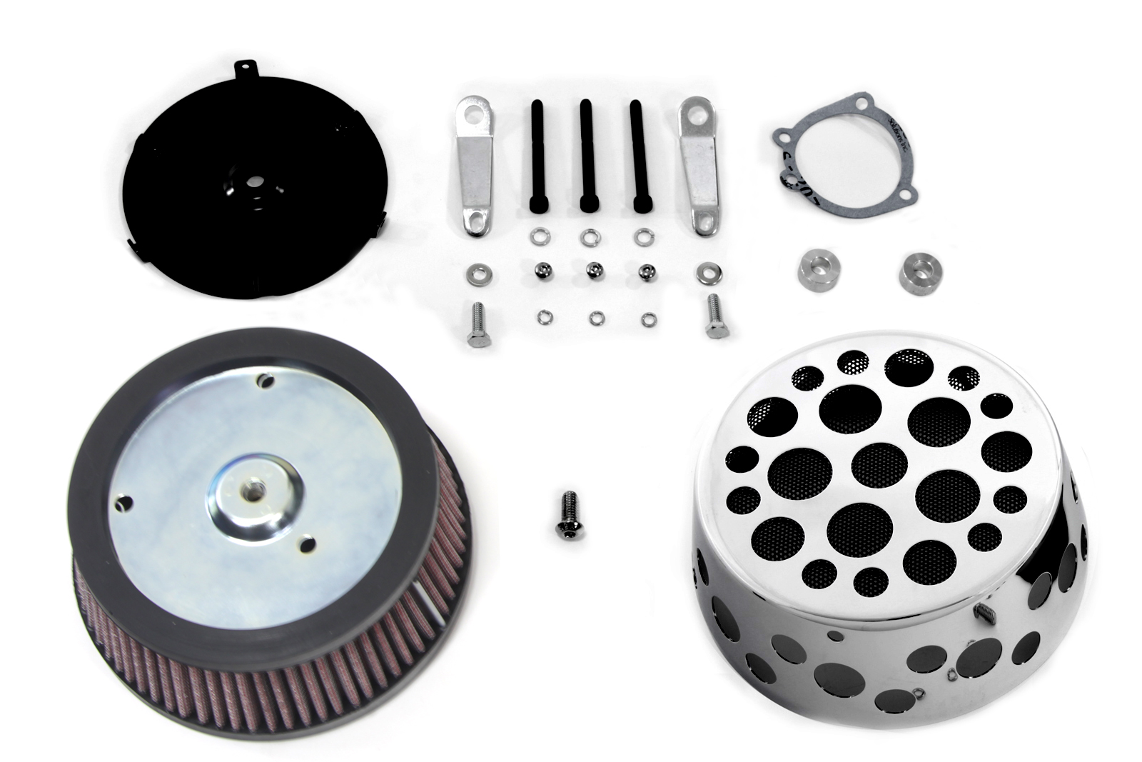 V-Twin 34-1742 - Air Cleaner Kit with Holes