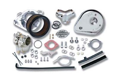 "V-Twin 35-0002 - S&S 1-7/8"" Super E Carburetor Kit"