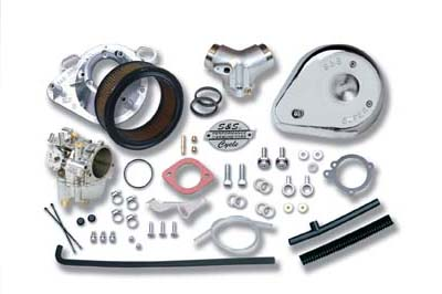"V-Twin 35-0004 - S&S 1-7/8"" Super E Carburetor Kit"