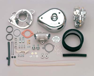 "V-Twin 35-0013 - S&S 1-7/8"" Super E Carburetor Kit"