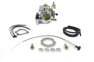 V-Twin 35-0024 - Zenith 40mm Chrome Spigot Mount Carburetor Kit