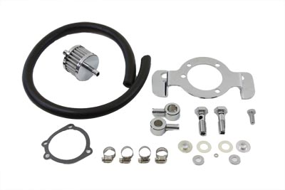 V-Twin 35-0121 - Crankcase Breather and Bracket Kit