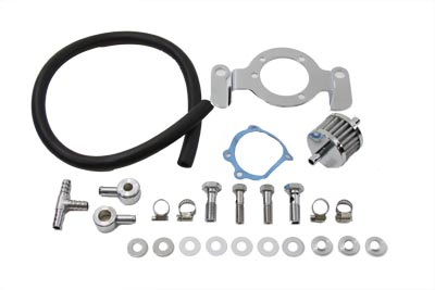 V-Twin 35-0122 - Crankcase Breather and Bracket Kit