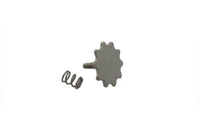 V-Twin 35-0372 - Throttle Thumbwheel Screw Chrome