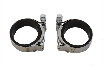 V-Twin 35-0409 - Power Intake Manifold Clamp Kit with Flat Seals