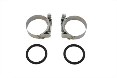 V-Twin 35-0415 - Power Intake Manifold Clamp Kit with O-Rings