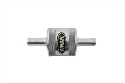 V-Twin 35-0520 - Pingel Inline Fuel Filter Polished