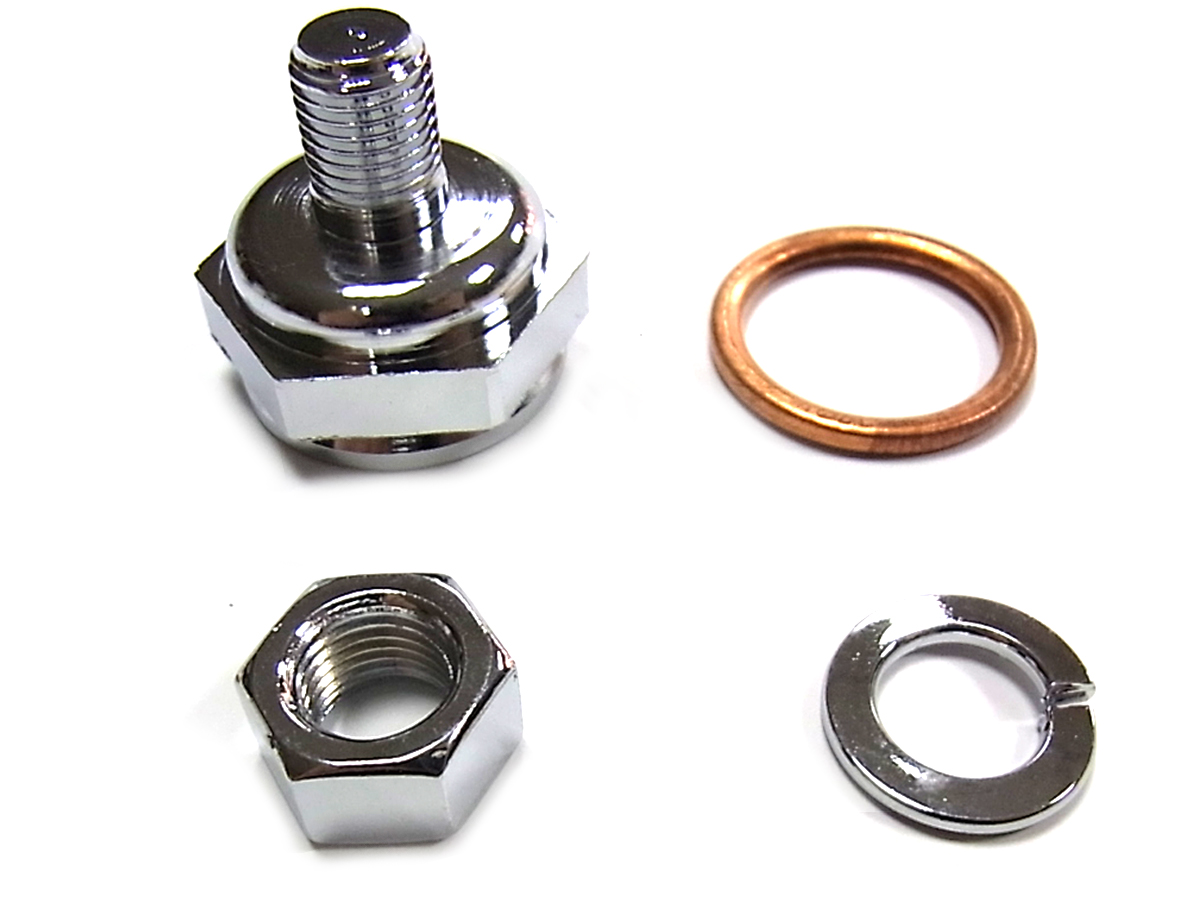 V-Twin 35-0551 - Replica Linkert Carburetor Bowl Lock Nut