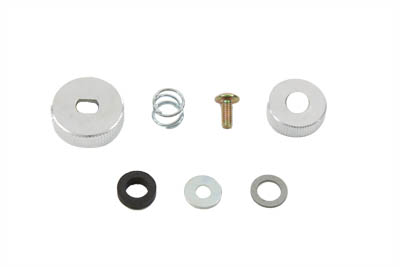 V-Twin 35-0651 - Petcock Shut Off Rod Knob Kit