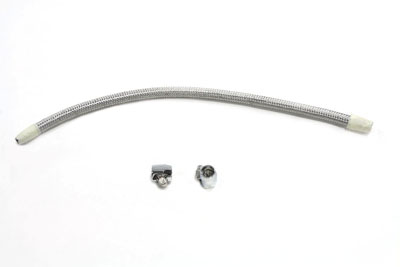 V-Twin 35-0680 - Cross Over Fuel Line Kit Stainless Steel