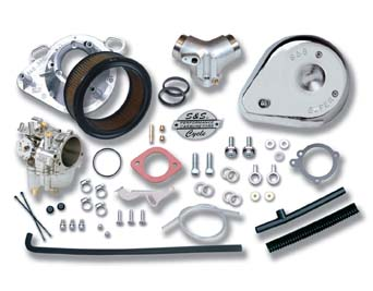"V-Twin 35-9201 - S&S 2-1/16"" Super G Carburetor Kit"