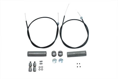 V-Twin 36-0499 - Cable Kit for Throttle and Spark Controls